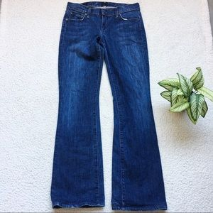 Citizens of Humanity Low Waist Bootcut Jeans Sz 27